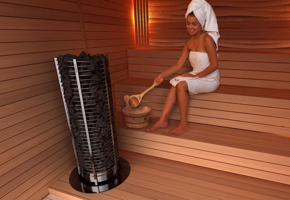 Преимущества электрической печи для бани