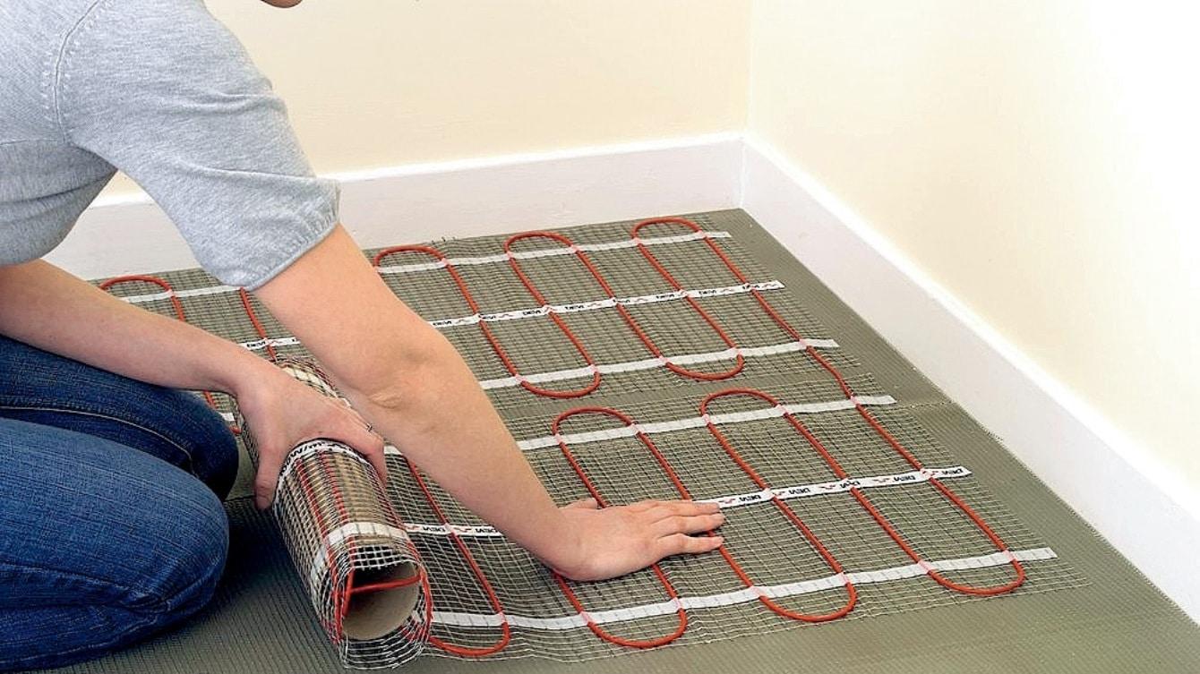 Технология работы теплого пола электрического типа